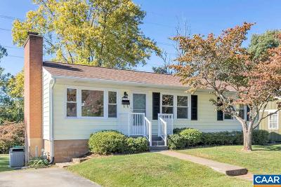 Charlottesville Single Family Home For Sale: 700 Elizabeth Ave