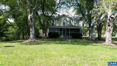 Louisa County Single Family Home For Sale: 8015 Shannon Hill Rd