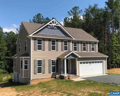 Fluvanna County Single Family Home For Sale: 497 Cunningham Meadows Dr