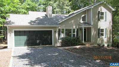 Fluvanna County Single Family Home For Sale: 13 Tallwood Trl