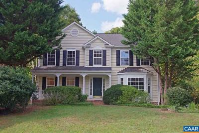 Charlottesville Single Family Home For Sale: 1322 Dunlora Dr