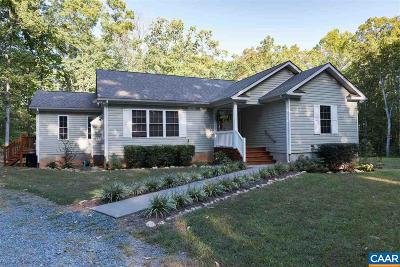 Louisa County Single Family Home For Sale: 2830 W Old Mountain Rd