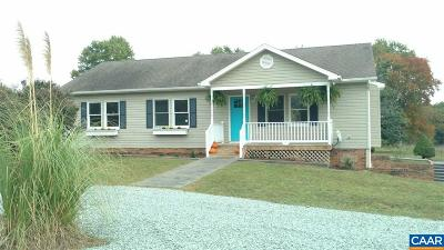 Fluvanna County Single Family Home For Sale: 11 Mill Ln