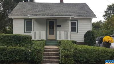 Charlottesville County Single Family Home For Sale: 763 King St