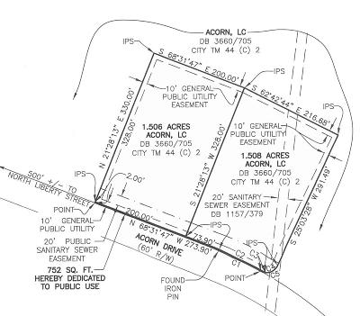 Commercial For Sale: Lot 1 Acorn Dr