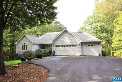 Louisa, Louisa County Single Family Home For Sale: 975 Oak Grove Dr