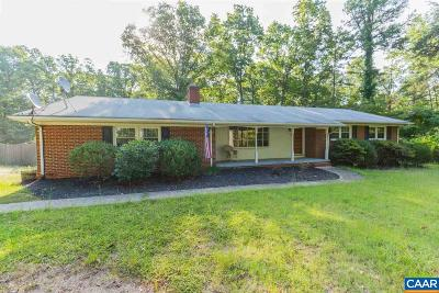 Single Family Home For Sale: 5015 Shannon Hill Rd