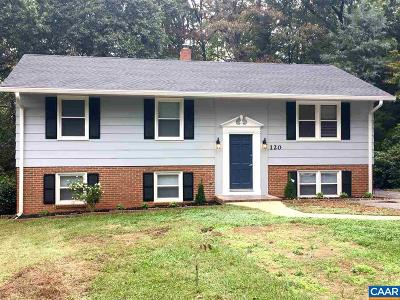 Charlottesville Single Family Home For Sale: 120 Deerwood Rd