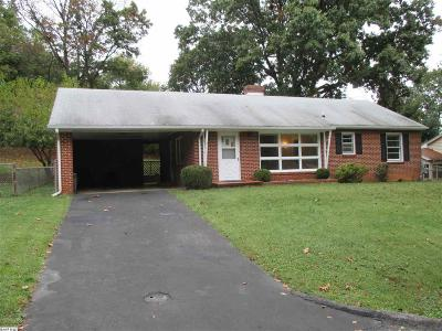 Single Family Home For Sale: 1121 Skymont Rd