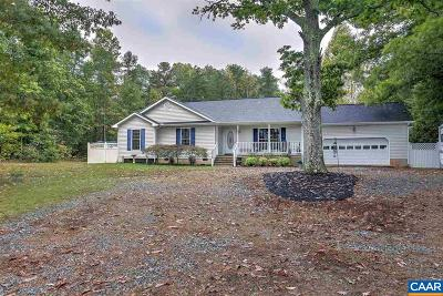 Louisa County Single Family Home For Sale: 2010 Jefferson Hwy