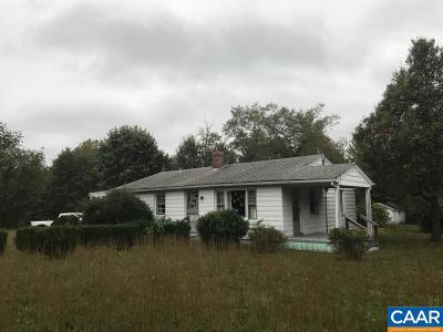 Louisa County Single Family Home For Sale: 2581 Wickham Rd