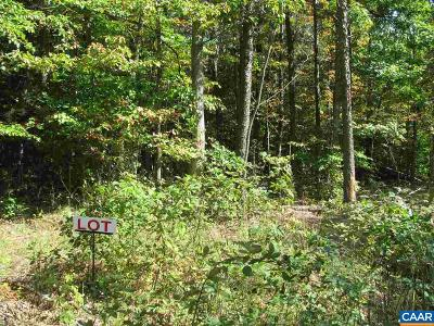 Charlottesville Lots & Land For Sale: Lake Albemarle Rd