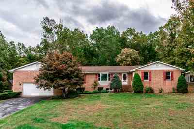Elkton Single Family Home For Sale: 20408 Shady Acres Dr