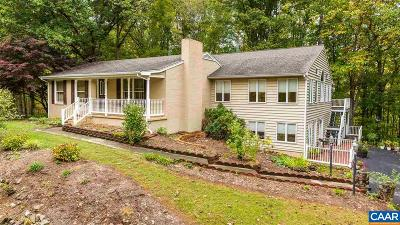 Nelson County Single Family Home For Sale: 968 Blundell Hollow Rd