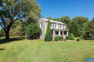 Louisa County Single Family Home For Sale: 3759 Courthouse Rd