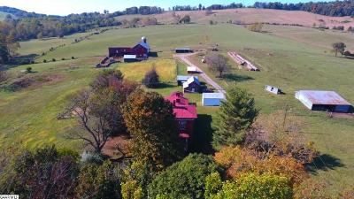 Augusta County Farm For Sale: 2052 Lee Highway
