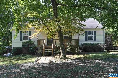 Fluvanna County Single Family Home For Sale: 764 Jefferson Dr