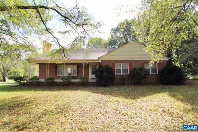 Louisa County Single Family Home For Sale: 150 Bibb Store Rd