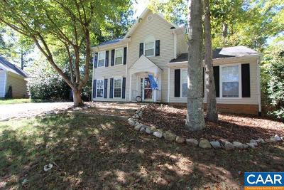 Charlottesville Single Family Home For Sale: 1693 Banyan Ct