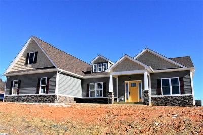 Staunton Single Family Home For Sale: Lot 14 Hull Hills Ln