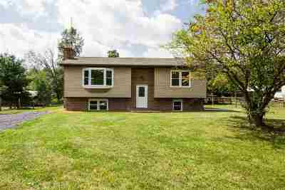 Rockingham County Single Family Home For Sale: 7495 Briery Branch Rd