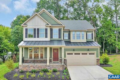 Charlottesville Single Family Home For Sale: 9a Fowler Ridge Ct