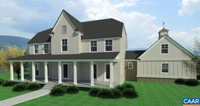 Charlottesville Single Family Home For Sale: Lot 2 Reivers Run