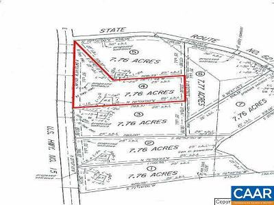 Buckingham County Lots & Land For Sale: S James Madison Hwy