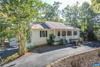 Fluvanna County Single Family Home For Sale: 376 Jefferson Dr