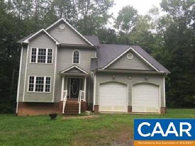 Louisa County Single Family Home For Sale: 2214 Gardners Rd