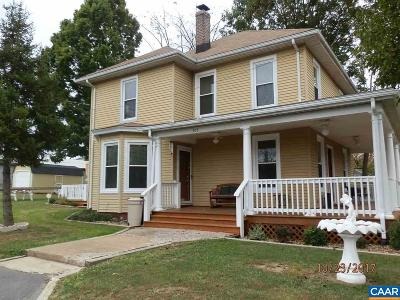 Gordonsville Single Family Home For Sale: 305 Stonewall Ave