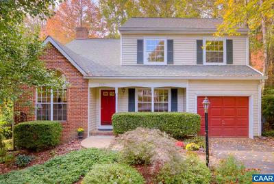 Albemarle County Single Family Home For Sale: 2081 Tavernor Ln
