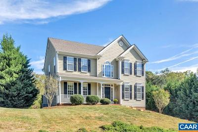 Charlottesville Single Family Home For Sale: 1425 Singleton Ln