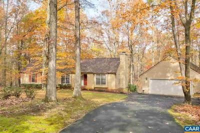 Earlysville Single Family Home For Sale: 1230 Hunters Ridge Rd