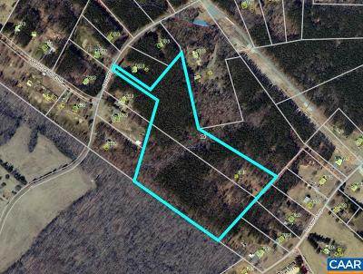 Fluvanna County Lots & Land For Sale: 1481 Transco Rd