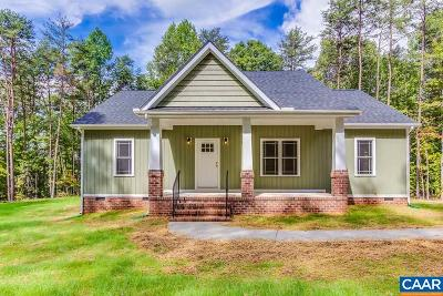 Goochland Single Family Home For Sale: 1644 Cartersville Rd