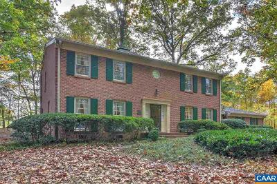 Charlottesville Single Family Home For Sale: 800 Ivy Farm Dr