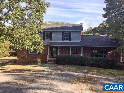 Fork Union Single Family Home For Sale: 1285 E River Rd