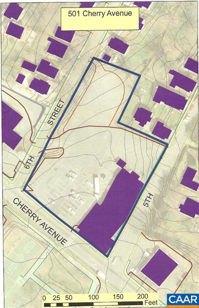 Charlottesville County Lots & Land For Sale: 501 Cherry Ave