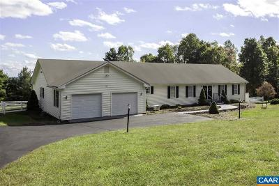Madison County Single Family Home For Sale: 493 Courthouse Mountain Rd