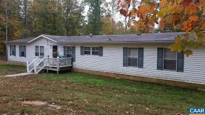 Palmyra Single Family Home For Sale: 2486 Shiloh Church Rd
