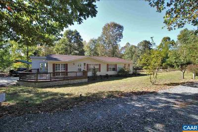 Louisa Single Family Home For Sale: 1178 School Bus Rd