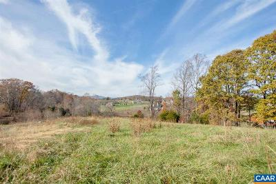 Albemarle County Lots & Land For Sale: Ragged Mountain Rd