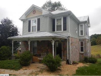 Augusta County Single Family Home For Sale: 1403 Middlebrook Rd