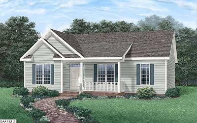 Waynesboro Single Family Home For Sale: Shenandoah Ave