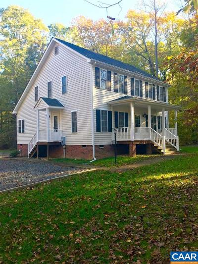 Louisa County Single Family Home For Sale: 3571 Wickham Rd