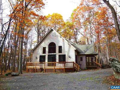 Nelson County Single Family Home For Sale: 21 Warrior Run