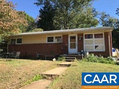 Charlottesville Single Family Home For Sale: 118 N Baker St