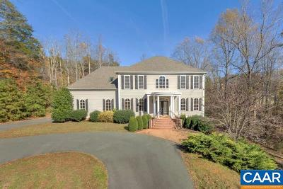 Charlottesville Single Family Home For Sale: 2420 Redbud Ln