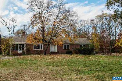 Palmyra Single Family Home For Sale: 12329 James Madison Hwy